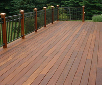 Wood Stain Deck Polished